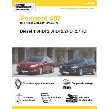 407 D 08-11 Revue e-RTA Numerique Peugeot