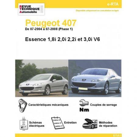 407 E 04-08 Revue e-RTA Numerique Peugeot