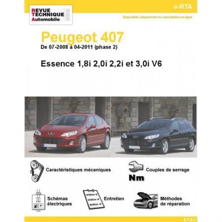 407 E 08-11 Revue e-RTA Numerique Peugeot