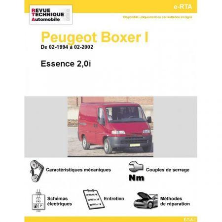 Boxer E 94-02 Revue e-RTA Numerique Peugeot