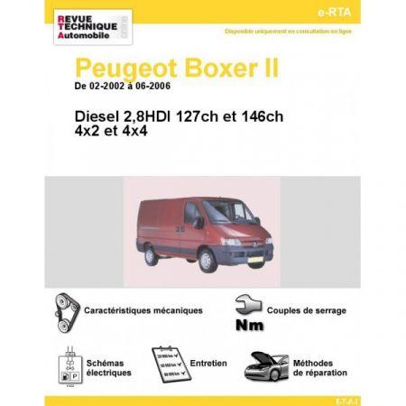 Boxer D 02-06 Revue e-RTA Numerique Peugeot