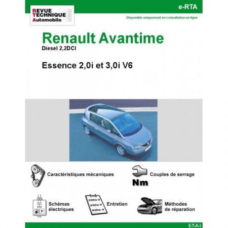 Avantime 01-03 Revue e-RTA Numerique Renault