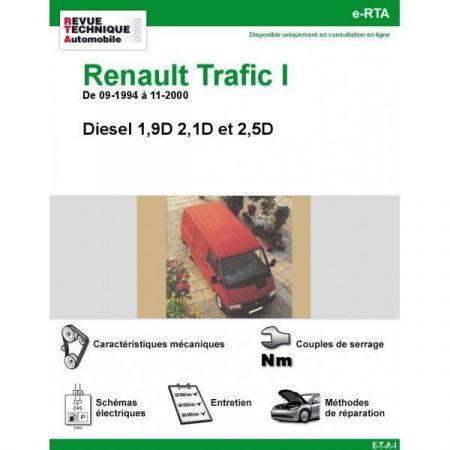 Trafic D 94-00 Revue e-RTA Numerique Renault