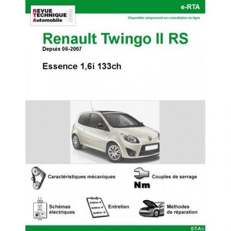 renault twingo ii rs essence 133cv depuis 06 2007. Black Bedroom Furniture Sets. Home Design Ideas