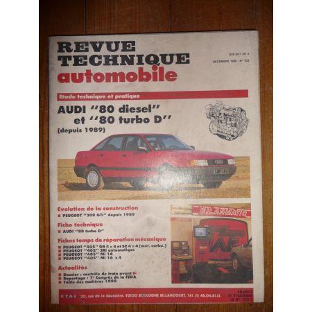 80 D 89- Revue Technique Audi