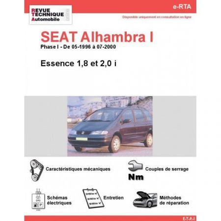 Alhambra I E 96-00 Revue e-RTA Numerique Seat