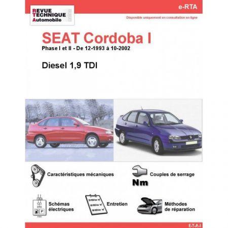 Cordoba I D 93-02 Revue e-RTA Numerique Seat