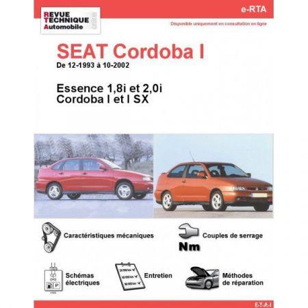 Cordoba I E 93-02 Revue e-RTA Numerique Seat