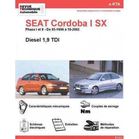 Cordoba I SX D 96-02 Revue e-RTA Numerique Seat