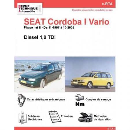 Cordoba I Vario D 97-02 Revue e-RTA Numerique Seat