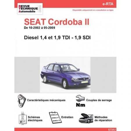 Cordoba II D 02-09 Revue e-RTA Numerique Seat