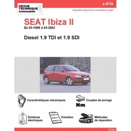 Ibiza II D 96-02 Revue e-RTA Numerique Seat