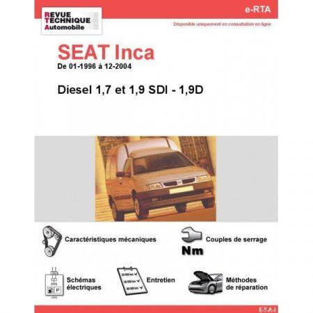 Inca D 96-04 Revue e-RTA Numerique Seat