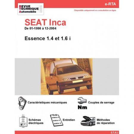 Inca E 96-04 Revue e-RTA Numerique Seat