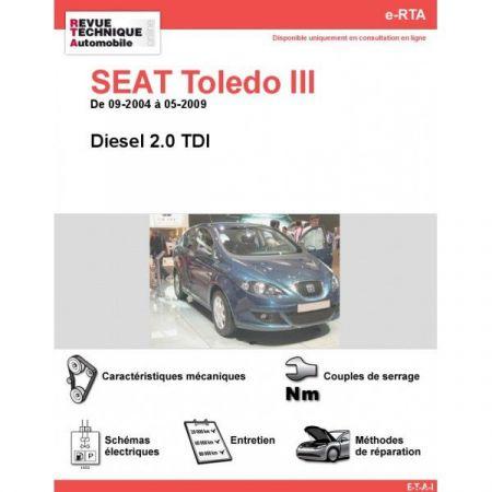 Toledo III D 04-09 Revue e-RTA Numerique Seat