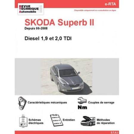 Superb II D 08- Revue e-RTA Numerique Skoda