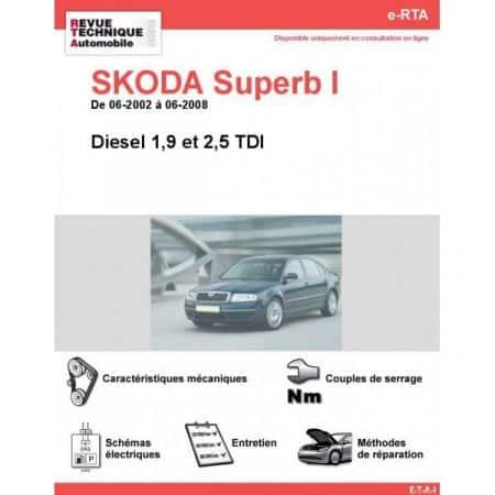 Superb I D 02-08 Revue e-RTA Numerique Skoda