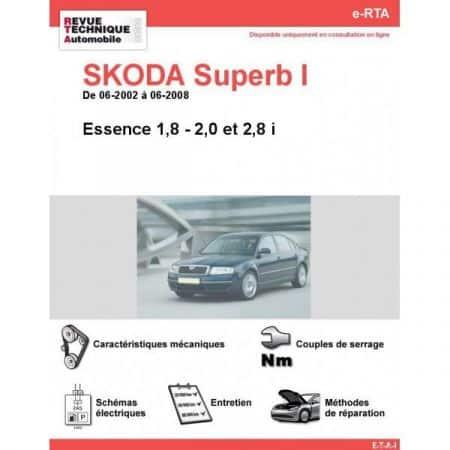 Superb I E 02-08 Revue e-RTA Numerique Skoda
