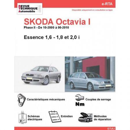 Octavia I E 00-10 Revue e-RTA Numerique Skoda