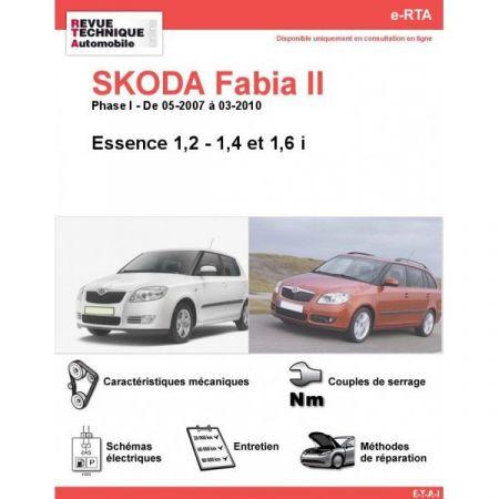 Fabia II E 07-10 Revue e-RTA Numerique Skoda