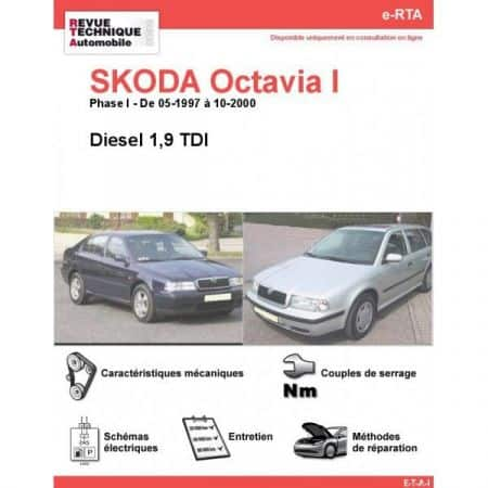 Octavia I D 97-00 Revue e-RTA Numerique Skoda