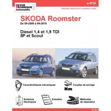 Roomster D 06-10 Revue e-RTA Numerique Skoda