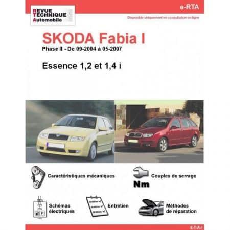 Fabia I E 04-07 Revue e-RTA Numerique Skoda