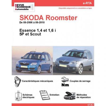 Roomster E 06-10 Revue e-RTA Numerique Skoda