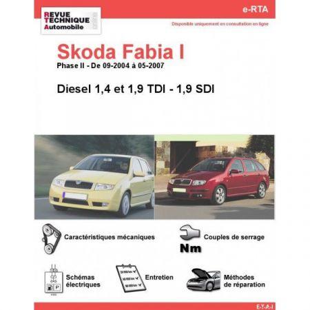 Fabia I D 04-07 Revue e-RTA Numerique Skoda