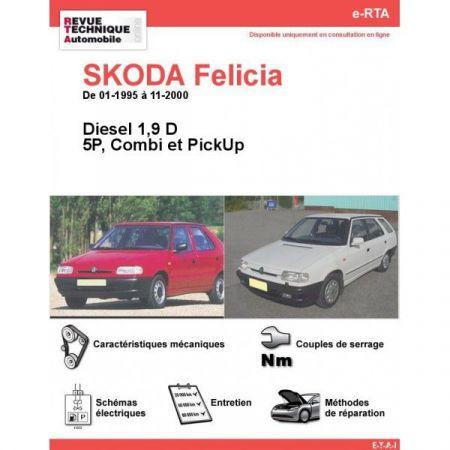 Felicia D 95-00 Revue e-RTA Numerique Skoda