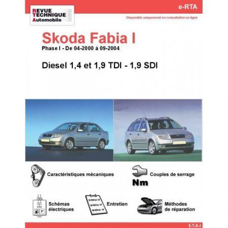 Fabia I D 00-04 Revue e-RTA Numerique Skoda