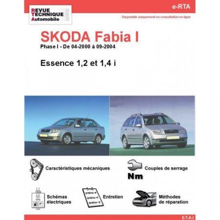 Fabia I E 00-04 Revue e-RTA Numerique Skoda