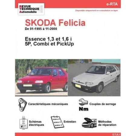 Felicia E 95-00 Revue e-RTA Numerique Skoda