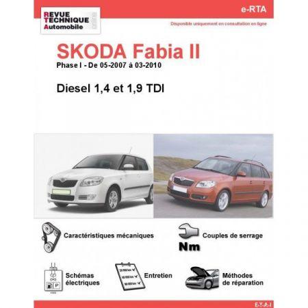 Fabia II D 07-10 Revue e-RTA Numerique Skoda