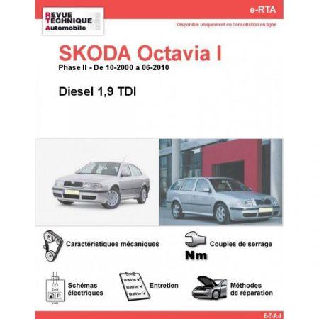 Octavia I D 00-10 Revue e-RTA Numerique Skoda