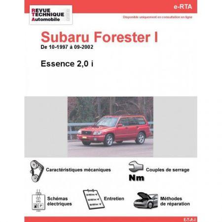 Forester I E 97-02 Revue e-RTA Numerique Subaru