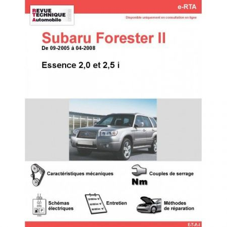 Forester II E 05-08 Revue e-RTA Numerique Subaru