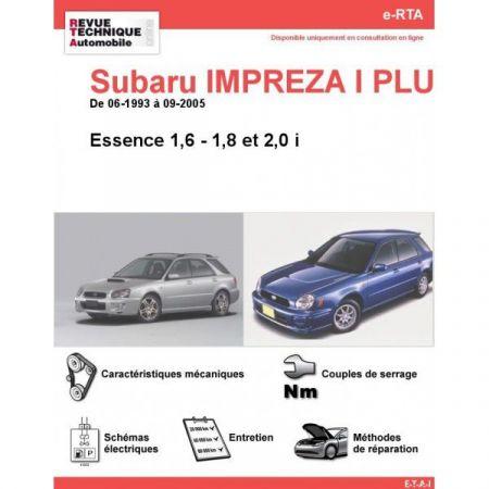 Impreza I PLUS E 93-05 Revue e-RTA Numerique Subaru