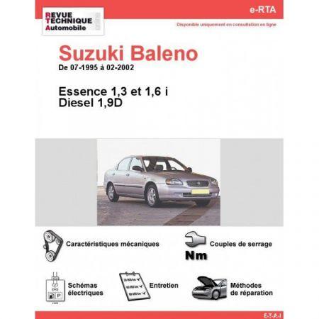 Baleno 95-02 Revue e-RTA Numerique Suzuki