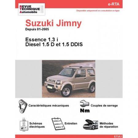 Jimny 05- Revue e-RTA Numerique Suzuki
