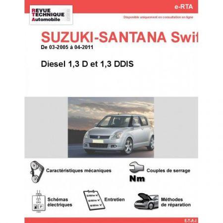 Swift III D 05-11 Revue e-RTA Numerique Suzuki