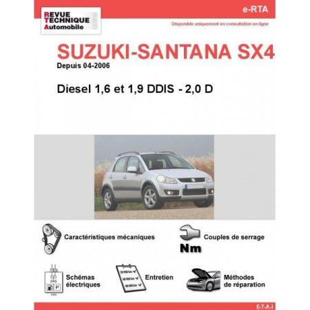 SX4 D 06- Revue e-RTA Numerique Suzuki
