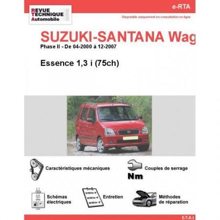 Wagon-R II E 00-07 Revue e-RTA Numerique Suzuki
