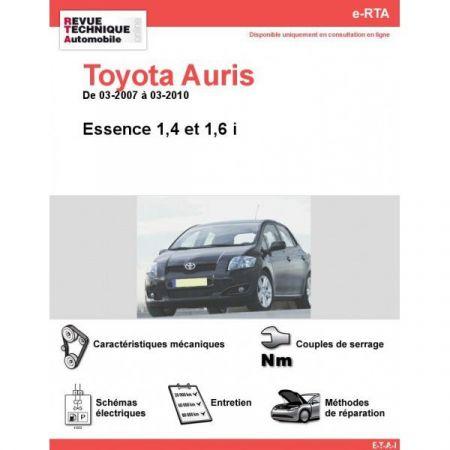 Auris E 07-10 Revue e-RTA Numerique Toyota