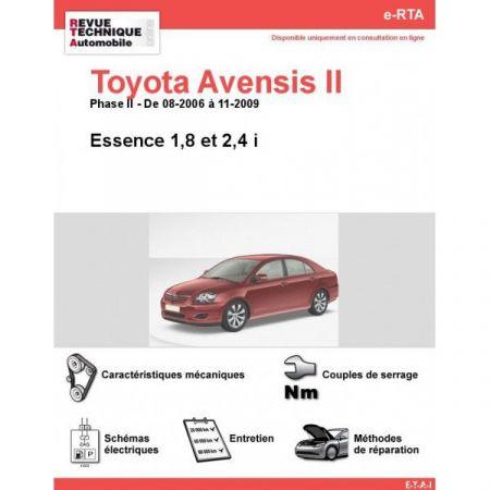 Avensis II E 06-09 Revue e-RTA Numerique Toyota