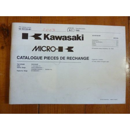 03- KX125 M1 Catalogue Pieces