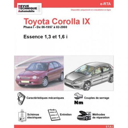Corolla IX E 97-00 Revue e-RTA Numerique Toyota