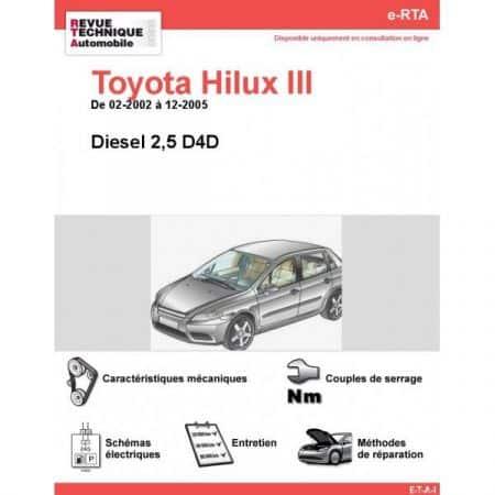 Hilux III D 02-05 Revue e-RTA Numerique Toyota