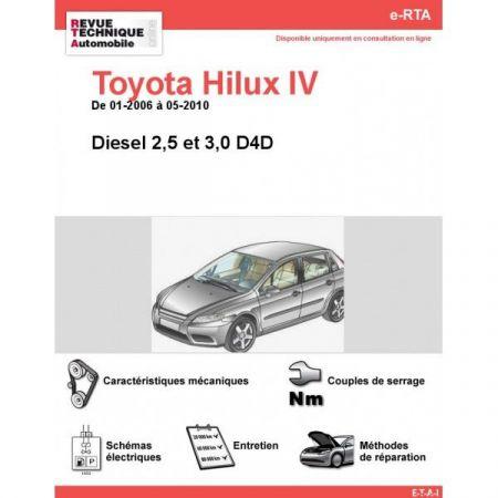 Hilux IV D 06-10 Revue e-RTA Numerique Toyota