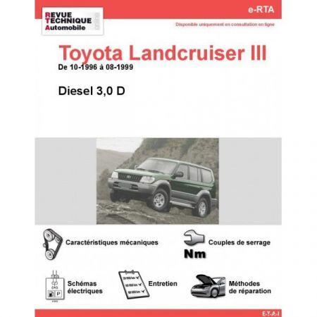 LandCruiser III D 96-99 Revue e-RTA Numerique Toyota
